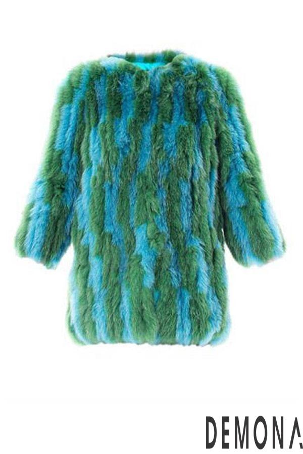 Áo khoác nữ lông rũ đẹp thu đông 2021 - 2022 cá tính tới công sở phần 4