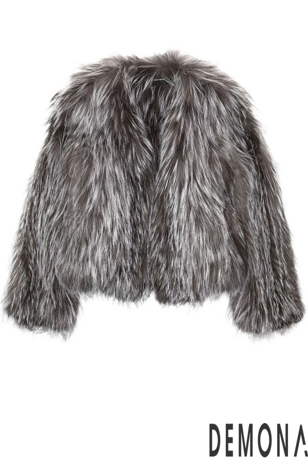 Áo khoác nữ lông rũ đẹp thu đông 2021 - 2022 cá tính tới công sở phần 9