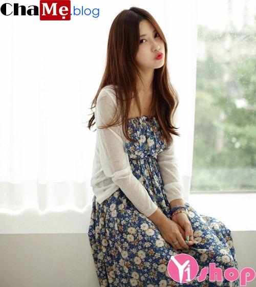 Áo khoác nữ lửng đẹp kiểu Hàn Quốc dịu dàng tinh khôi đông 2021 - 2022