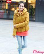 Áo khoác nữ lửng đẹp phong cách sành điệu mùa đông 2021 – 2022