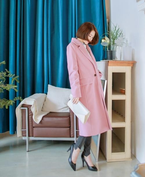 Áo khoác nữ màu pastel đẹp hút hồn nàng công sở thu đông 2021 - 2022 phần 1