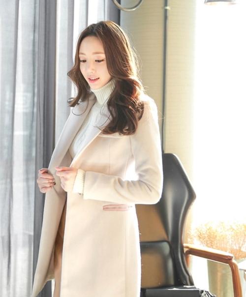 Áo khoác nữ màu pastel đẹp hút hồn nàng công sở thu đông 2021 - 2022 phần 2