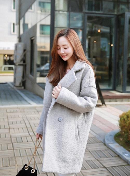 Áo khoác nữ màu pastel đẹp hút hồn nàng công sở thu đông 2021 - 2022 phần 7
