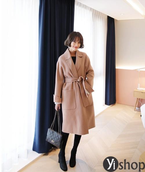 Áo khoác nữ màu pastel đẹp xu hướng hot nhất mùa đông 2021 - 2022 phần 2