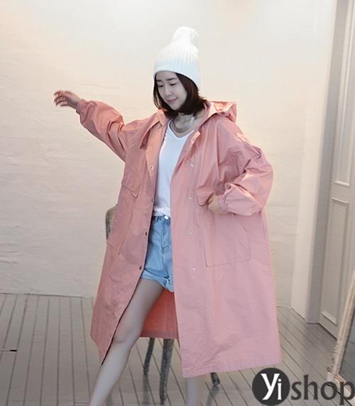 Áo khoác nữ màu pastel đẹp xu hướng hot nhất mùa đông 2021 - 2022 phần 4