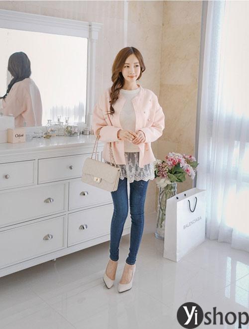 Áo khoác nữ mỏng đẹp dành riêng cho nàng công sở đông 2021 - 2022 phần 9