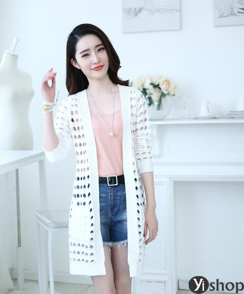 Áo khoác nữ nhẹ đẹp bí quyết mặc ấm thời thượng như gái hàn đông 2021 - 2022 phần 15