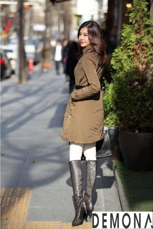 Áo khoác phao cổ lông nữ dáng dài đẹp xu hướng thu đông 2021 – 2022 phần 11