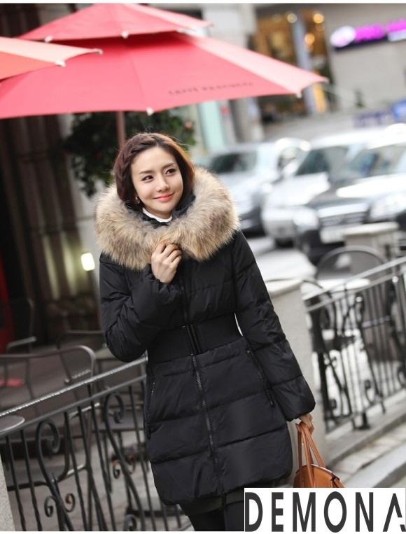 Áo khoác phao cổ lông nữ dáng dài đẹp xu hướng thu đông 2021 – 2022 phần 12