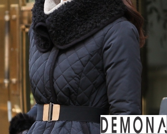 Áo khoác phao cổ lông nữ dáng dài đẹp xu hướng thu đông 2021 – 2022 phần 3