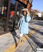 Áo khoác phao nữ có mũ đẹp nhất thu đông 2021 – 2022 ấm áp không lạnh