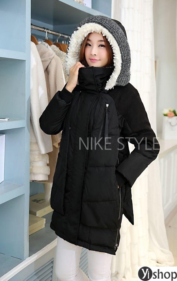 Áo khoác phao nữ có mũ đẹp nhất thu đông 2021 - 2022 ấm áp không lạnh phần 6