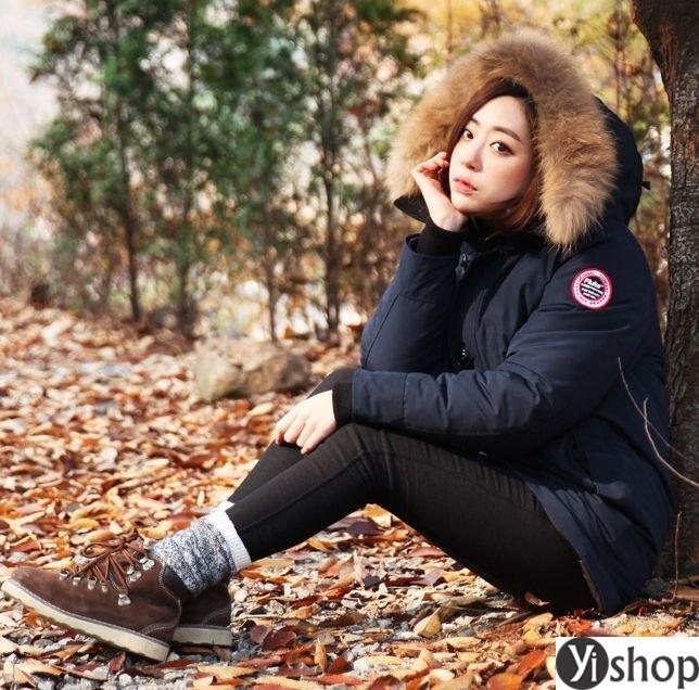 Áo khoác phao nữ có mũ đẹp nhất thu đông 2021 - 2022 ấm áp không lạnh phần 7