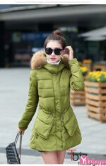 Áo khoác phao nữ có mũ đẹp thời trang Hàn Quốc không lạnh đông 2021 – 2022
