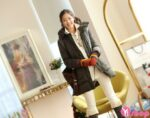 Áo khoác phao nữ công sở Hàn Quốc đẹp đông 2021 – 2022 ấm áp quyến rũ