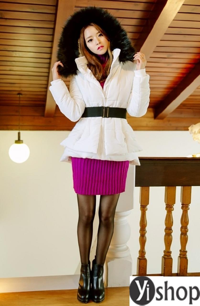 Áo khoác phao nữ dáng ngắn đẹp cho bạn gái teen mi nhon thu đông 2019