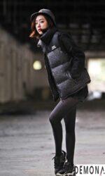 Áo khoác phao nữ dáng ngắn đẹp dạo phố thu đông 2021 – 2022 ấm áp