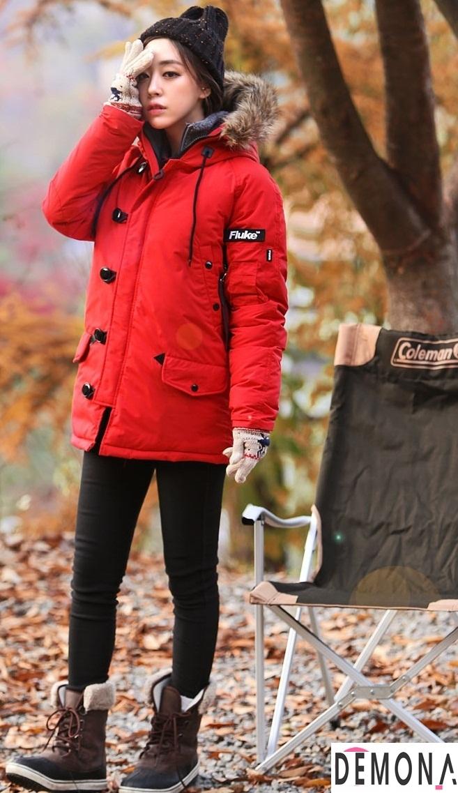 Áo khoác phao nữ dáng ngắn đẹp dạo phố thu đông 2021 – 2022 ấm áp phần 4