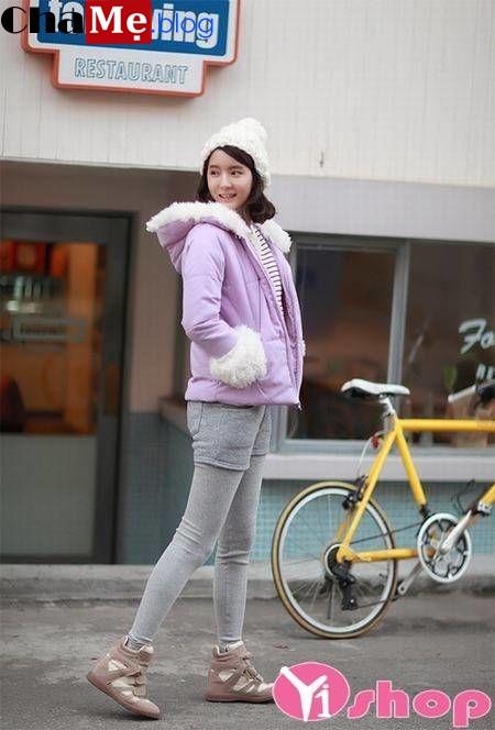 Áo khoác phao nữ dáng ngắn đẹp món đồ lý tưởng ngày trở gió đông 2021 - 2022