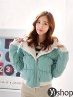 Áo khoác phao nữ đẹp kiểu Hàn Quốc ấm áp tới công sở thu đông 2021 – 2022