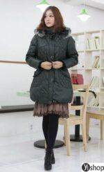 Áo khoác phao nữ đẹp kiểu Hàn Quốc cho người béo ấm áp thu đông 2021 – 2022