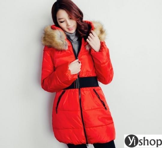 Áo khoác phao nữ đẹp kiểu Hàn Quốc được yêu thích nhất thu đông 2019