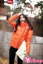Áo khoác phao nữ đẹp kiểu Hàn Quốc sành điệu dạo phố đông 2021 – 2022