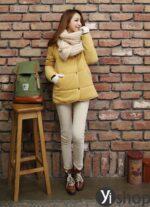 Áo khoác phao nữ đẹp thu đông 2021 – 2022 món đồ được sao Hàn yêu thích nhất