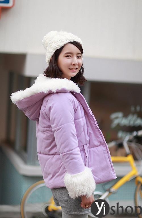Áo khoác phao nữ đẹp thu đông 2021 - 2022 món đồ được sao Hàn yêu thích nhất phần 13
