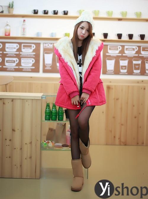 Áo khoác phao nữ đẹp thu đông 2021 - 2022 món đồ được sao Hàn yêu thích nhất phần 4