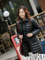 Áo khoác phao nữ đơn sắc đẹp thời trang thu đông 2021 – 2022 hiện nay