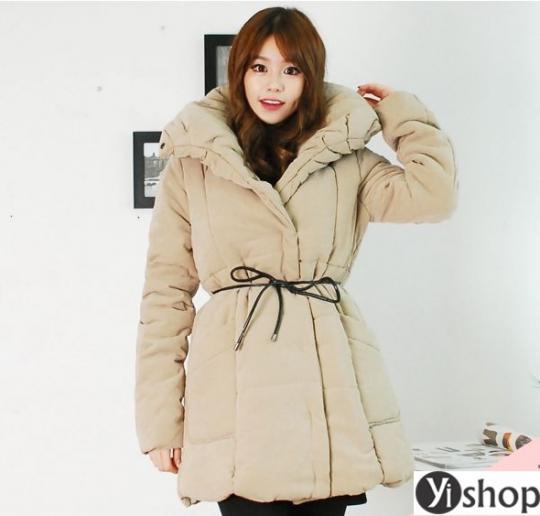 Áo khoác phao nữ Hàn Quốc đẹp cho nàng béo mập thu đông 2021 - 2022