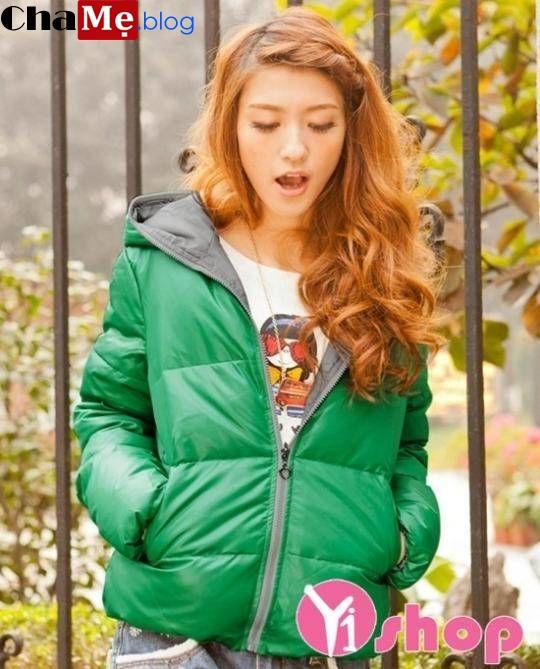Áo khoác phao nữ hàn quốc đẹp món đồ tặng gái xinh mi nhon đông 2021 - 2022