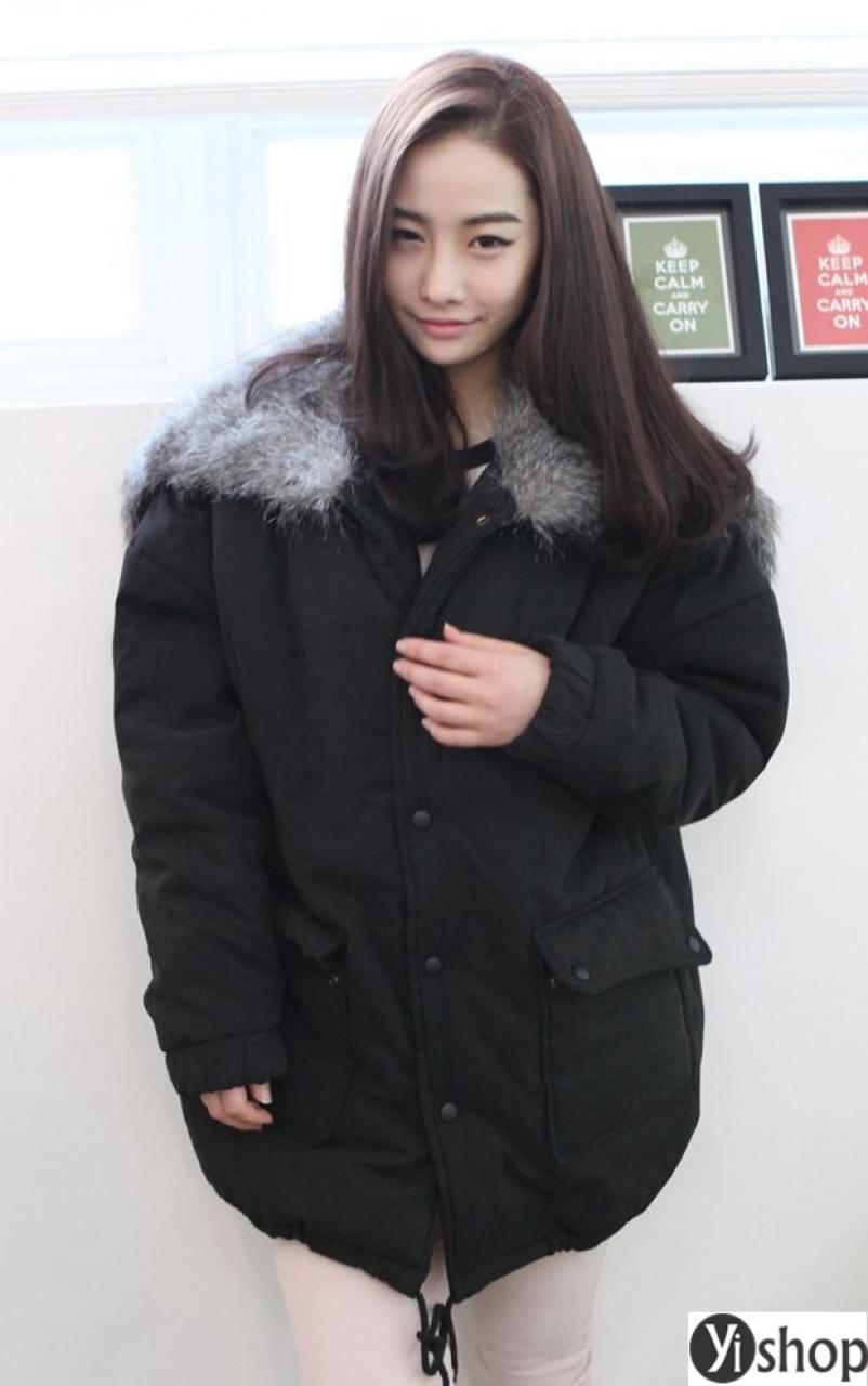 Áo khoác phao nữ Hàn Quốc đẹp thu đông 2019 che khuyết điểm hoàn hảo