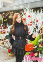 Áo khoác phao nữ Hàn Quốc đẹp thu đông 2021 – 2022 đa phong cách thời thượng