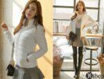 Áo khoác phao nữ Hàn Quốc đẹp thu đông 2021 – 2022 phù hợp với mọi dáng người