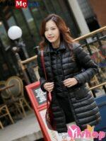 Áo khoác phao nữ lông vũ đẹp vừa nhẹ lại vừa cực ấm đón thu đông 2021 – 2022