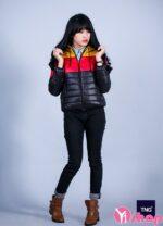 Áo khoác phao nữ sáng màu đẹp thu đông 2021 – 2022 cho teengirl xuống phố sành điệu