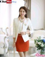 Áo khoác vest nữ đẹp kiểu dáng Hàn Quốc đông 2021 – 2022
