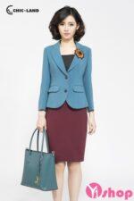 Áo khoác vest nữ Hàn Quốc dễ thương trẻ trung nhất thu đông 2021 – 2022