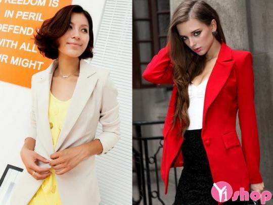 Áo khoác vest nữ Hàn Quốc dễ thương trẻ trung nhất thu đông 2019