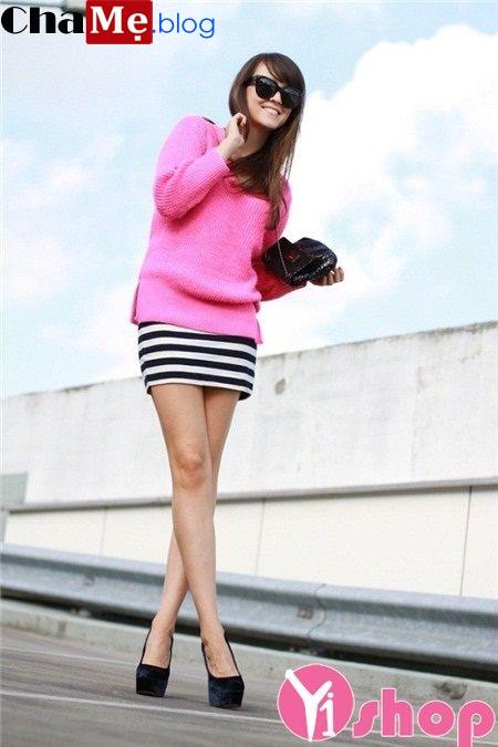 Áo len nữ Hàn Quốc đẹp thời trang thu đông 2021 - 2022 sang trọng