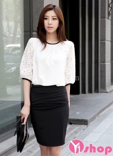 Áo sơ mi nữ tay lỡ đẹp hè 2021 - 2022 xinh xắn đáng yêu như hot girl Hàn