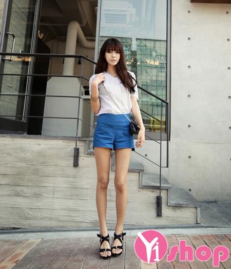Áo sơ mi trắng nữ kiểu dáng đẹp thời trang Hàn Quốc hè 2021 - 2022