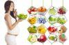 Bà bầu ăn gì để dễ sinh và chế độ dinh dưỡng thế nào là hợp lý?
