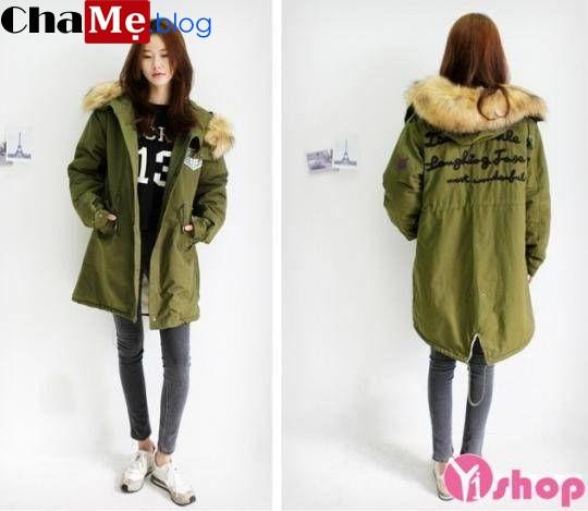 Bạn gái cá tính nên chọn áo khoác jacket nữ quân đội đẹp thu đông 2021 - 2022 này