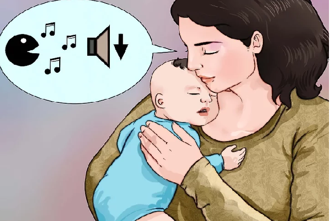 bế trẻ sơ sinh ngủ khiến trẻ theo mẹ nhiều hơn