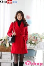 Biến tấu áo khoác dạ nữ sài gòn tphcm màu sắc công sở đẹp hợp thời trang đông 2021 – 2022