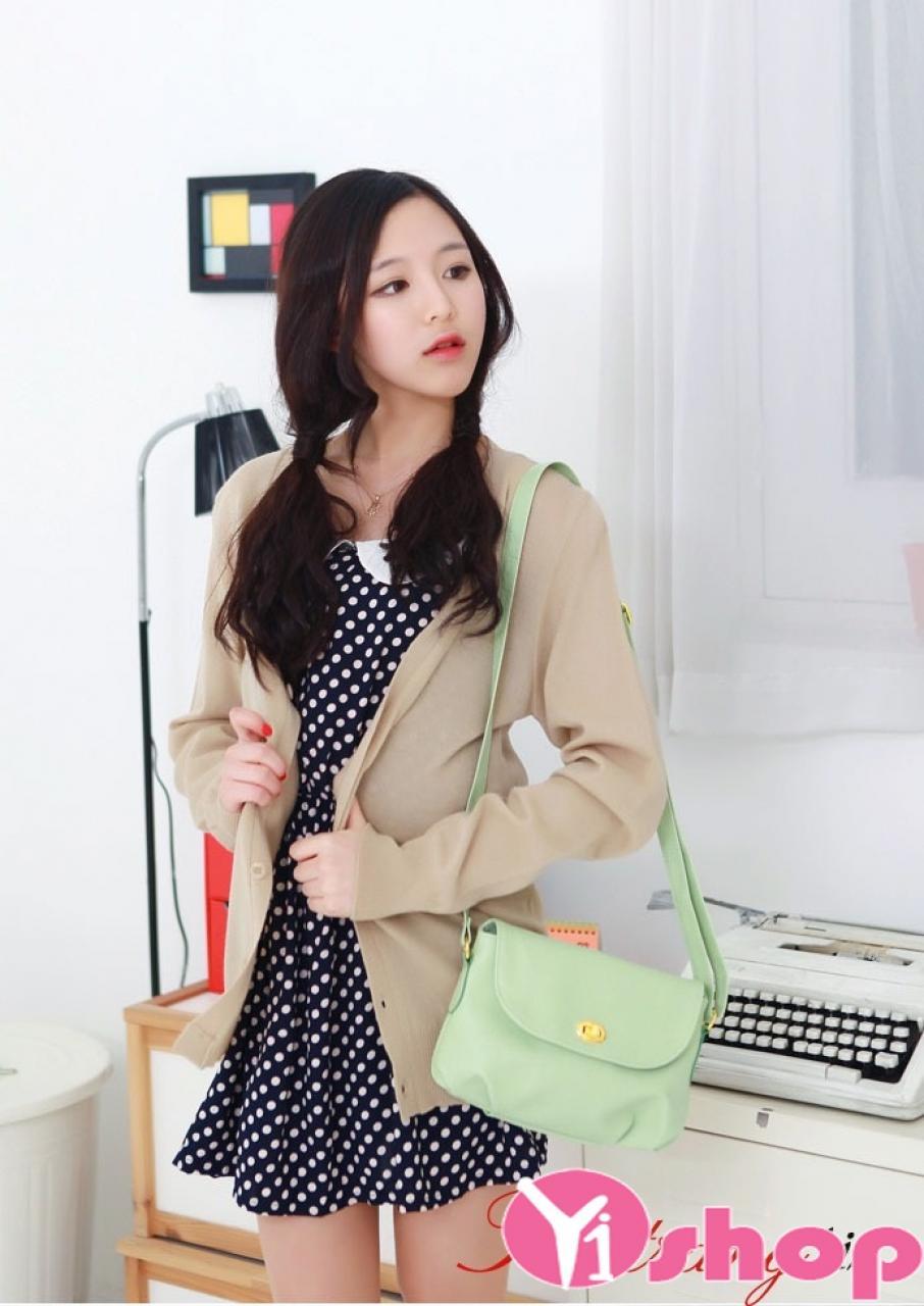 Bộ sưu tập Áo khoác nữ kiểu mới đẹp phong cách Hàn Quốc trẻ trung thu đông 2019