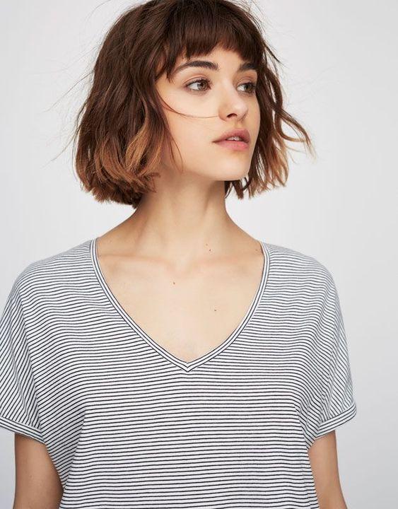 BST 25 kiểu tóc ngắn ngang vai dành cho gương mặt dài và gầy khiến chị em mê mẩn